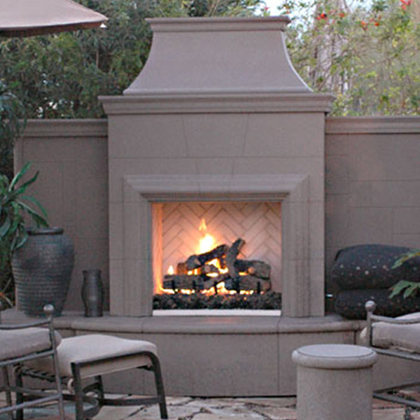 Outdoor Fireplaces Family Image