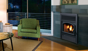 Brentwood Wood Fireplace