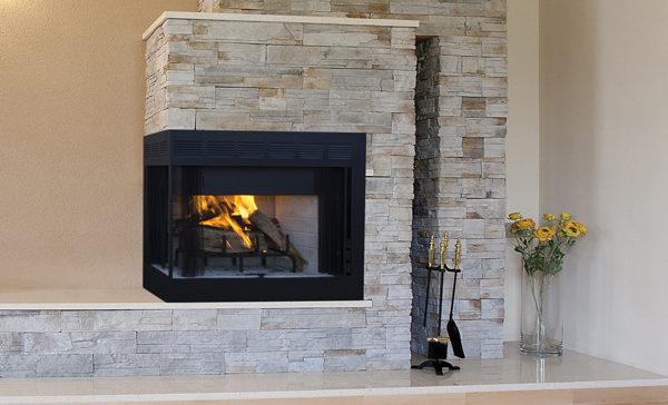Astria Inglenook Corner Fireplace