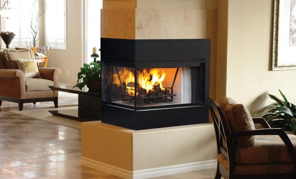 Astria Monterey Peninsula Fireplace