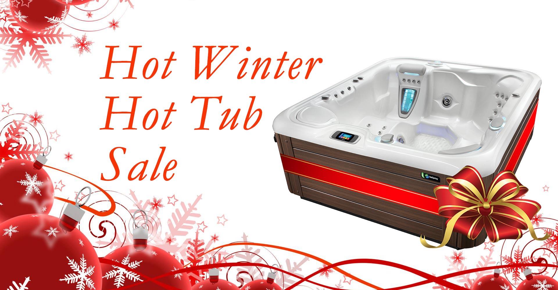Hot Winter Hot Tub Sale